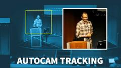 AutoCam tracking demonstration